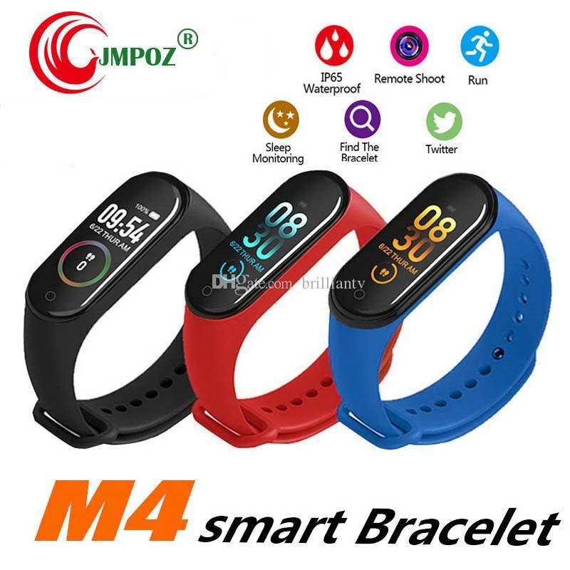 Best seller M4 Smart Bracelet Fitness Tracker Pedometer Watch Band Heart Rate Blood Pressure Monitor Smart Wristband For Android