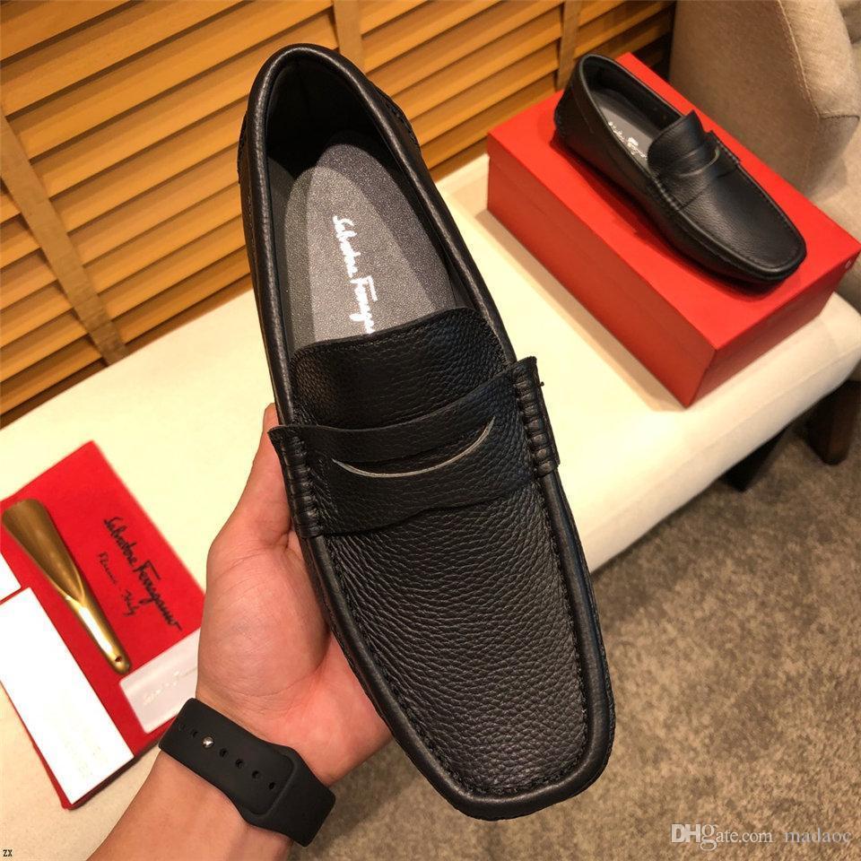 A8 Мода формали бизнес обувь Гуань Мужчина платье ботинки бездельники ВОДИТЕЛИ ПРЯЖКА кроссовки САНДАЛИЯ