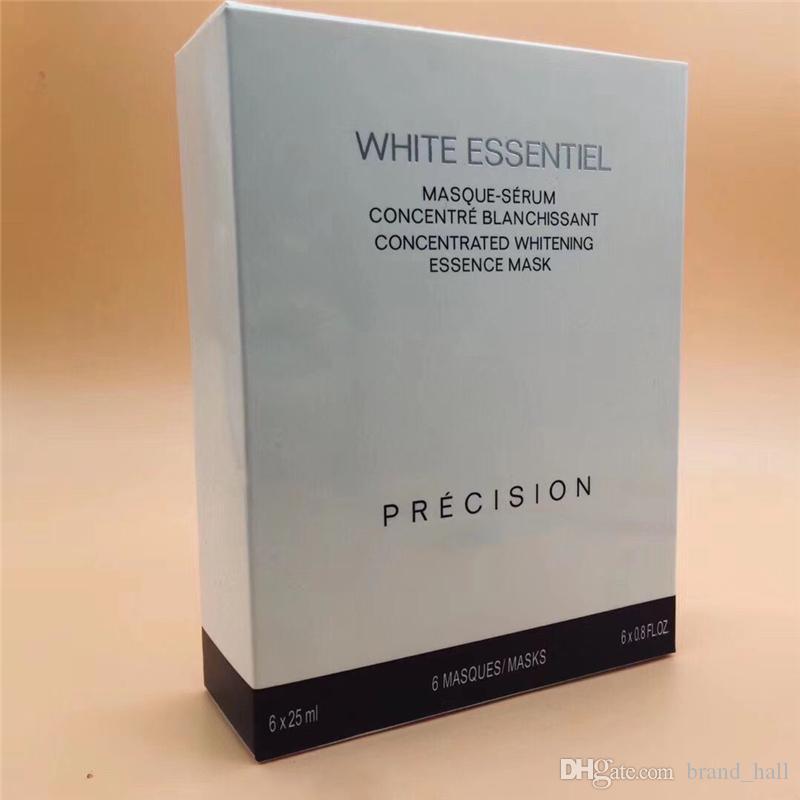 famosa marca C White Essentiel concentrado máscara facial concentrada branqueamento essência código de máscara 0802 6pcs / set