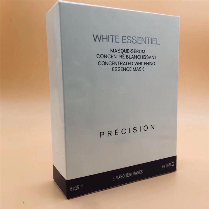 famosa marca C Blanca Essentiel mascarilla concentrado concentrado de blanqueamiento esencia código de máscara 0802 6pcs / set