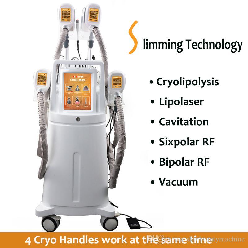 LPG Endermologie 한 Cryolipolysis 곳을 알아내는 이중 턱 치료 지방 바디 슬리밍 기계 Lipo 레이저 초음파 공동 현상 Cryolipolisis 냉동
