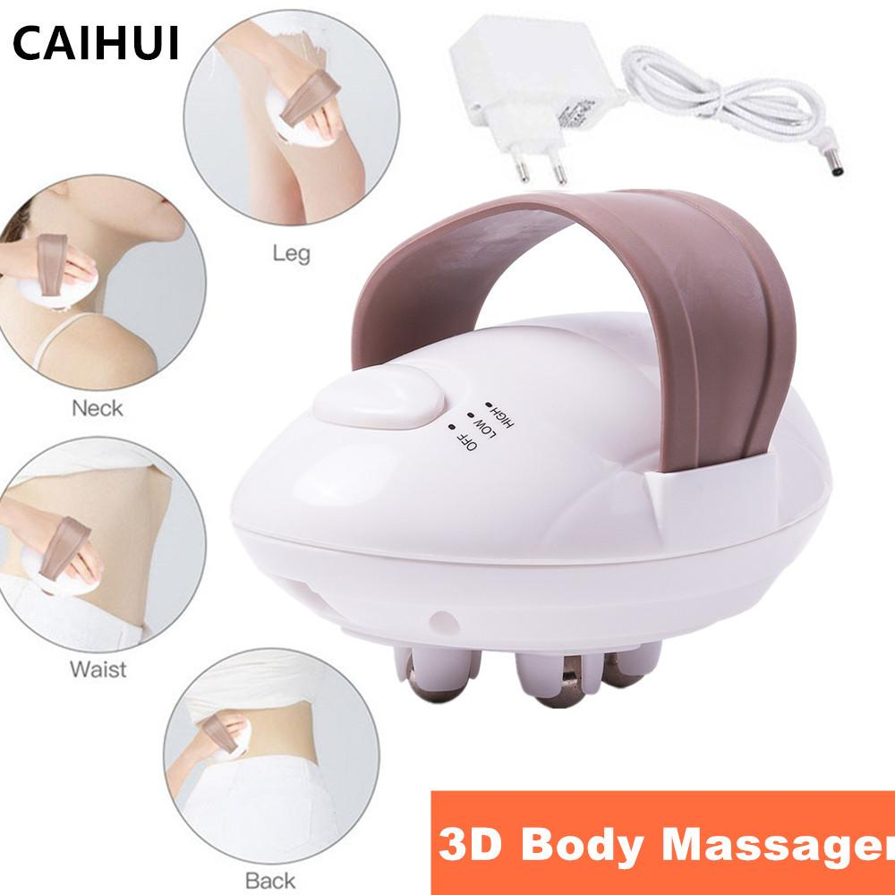 3D Electric Full Body Slimming Massager Roller Fat Burning & Anti-Cellulite Relieve Tension