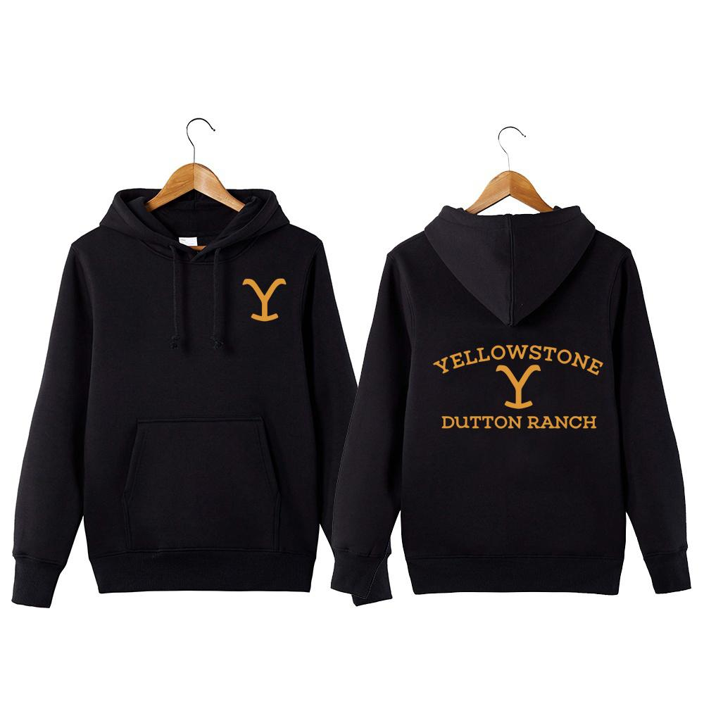 Kevin Coster TV Series Yellowstone Dutton Ranch Sweatershirt Wyoming Montana Vaca Boys Hoodie Y200706