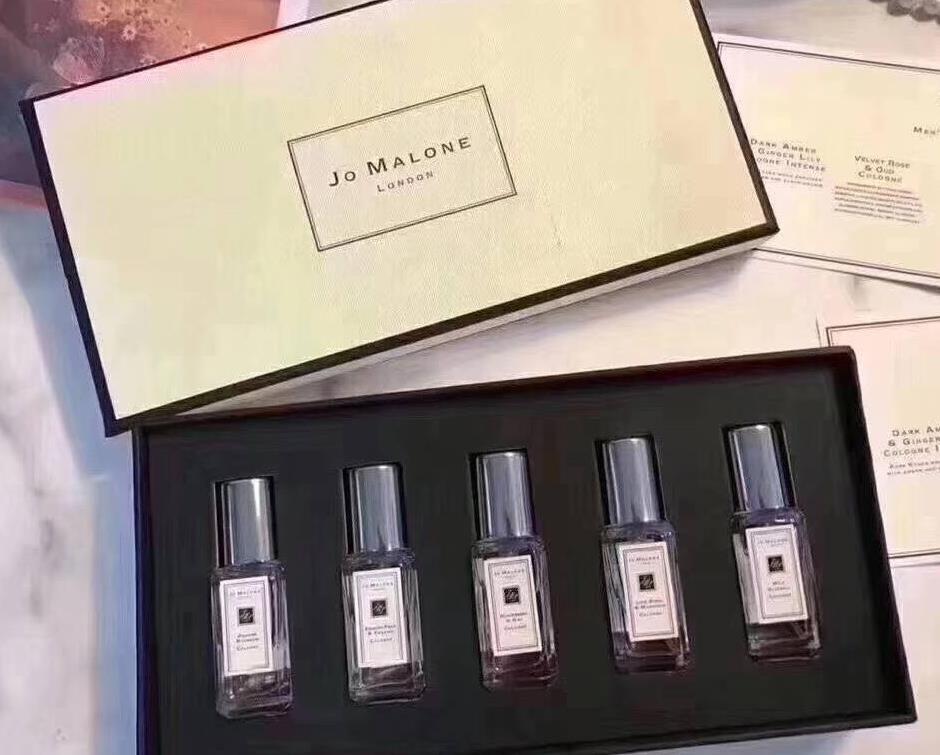 최고 품질! 여성을위한 Parfum 남자 레이디 향수 방취제 5 냄새 타입 향수 9ml * 5 최고 품질