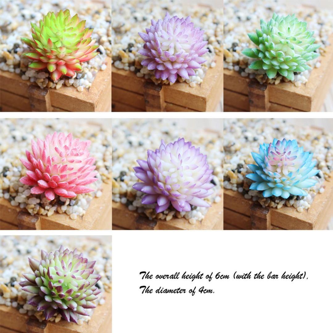 37 Стиль Искусственный Суккуленты Поддельные растения Свадебные Главная Сад Офис Спальня Гостиная украшения Растения Мини