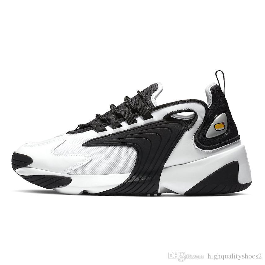 Compre Nike Air Max 200 Hombres Zoom 2K Azul ZM 2000 Años 90 Trainer Designer Zapatillas De Deporte De Exterior M2K Zapatos Cómodos Causales 36 45 A