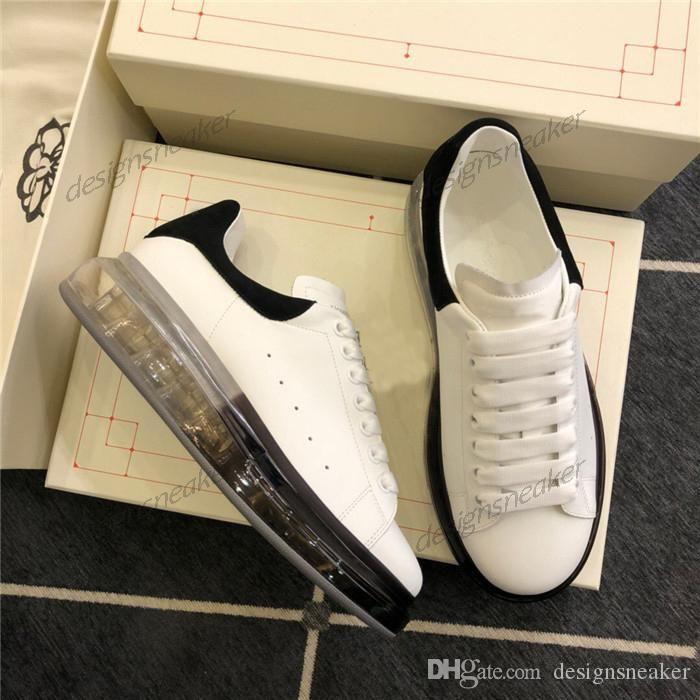 Luxury Fashion Designer pattini casuali piattaforma nastro formatori scarpe da tennis di cristallo degli addestratori pattini inferiori per le donne uomo Chaussures