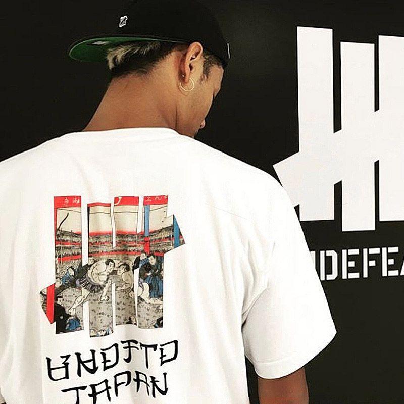 INVICTO JAPAN Camisetas para hombre de la marca diseñadores de camisetas Hip Sumo Impreso Harajuku manga corta de gran tamaño Hip Tee Hombres Mujeres Pareja de verano