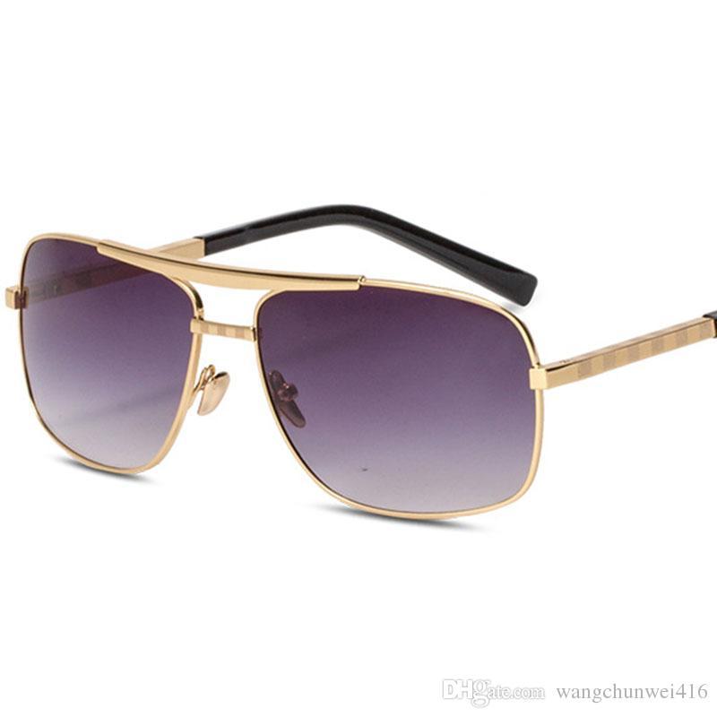 homens óculos de sol óculos de sol quadrados caixa Vintage sol elástica caixa dos vidros Vintage elásticas óculos de sol Driving Beach Holiday Turismo