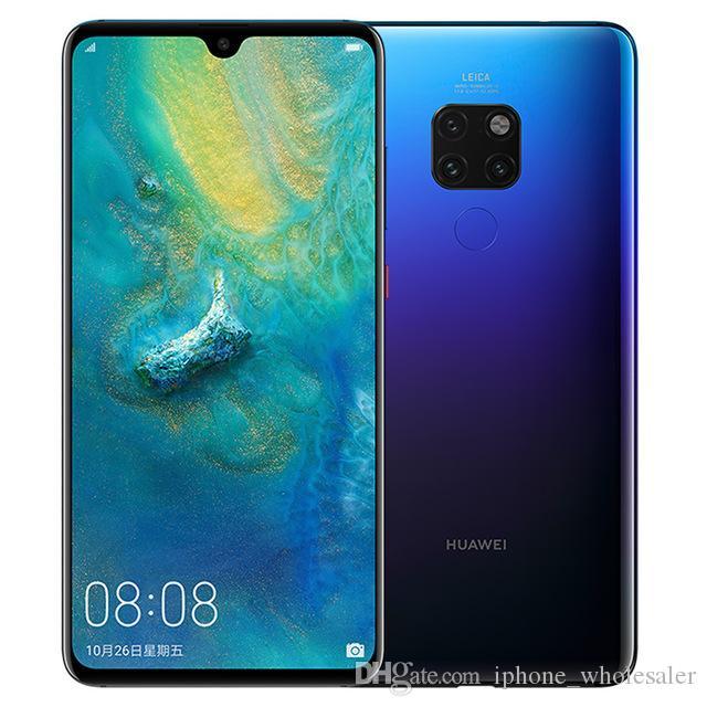"Original Huawei Companheiro 20 4G LTE telefone celular 6GB RAM 64GB 128GB ROM Kirin 980 Octa Núcleo 6,53"" Full Screen 24MP NFC Fingerprint ID Mobile Phone"