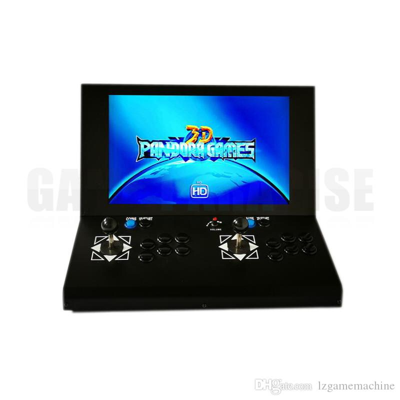 19 inch widescreen LCD 2448 in 1 Retro Games Pandora 3D Coin-Operated arcade video Game Machine