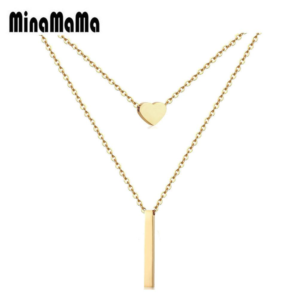 Womens Silver Single Bead Stainless Steel Necklace Minimalist Jewelry US Seller