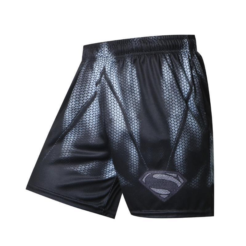 Preto / 2018 Nova Shorts Men Hot Summer Sale Praia Shorts Casual estilo solto Elastic Moda roupas de marca