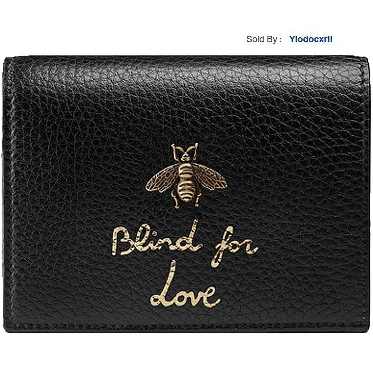 yiodocxrii 2T33 Stereo Metal Bee Letter Printing Wallet 460185a7m0t1000 Totes Handbags Shoulder Bags Backpacks Wallets Purse