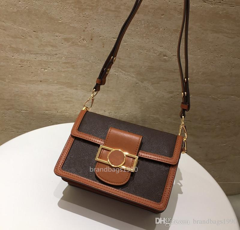 Бесплатная Доставка!Высокое качество женщины сумка-мессенджер Genunie кожа классические женские сумки тотализаторы сумка 25X17X10. 5cm M44391