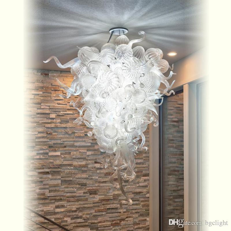 Big Sale Chihuly Style Pretty lighting Murano Glass Chandelier Simple Designed Pendant Lamps Pretty lighting Murano Glass Chandelier
