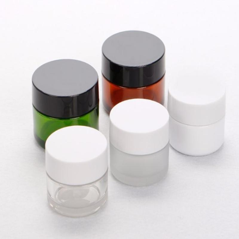 30g 50g Small Plastic PP Face Cream Jar Cosmetic Packaging Boxes Empty Jars Pots Eyeshadow Makeup F301