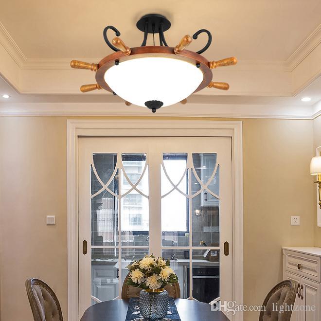 Новый дизайн американские старинные деревенские подвесные светильники роскошные европейские ретро деревянные подвесные светильники led подвесной светильник для клуба бара Кафе