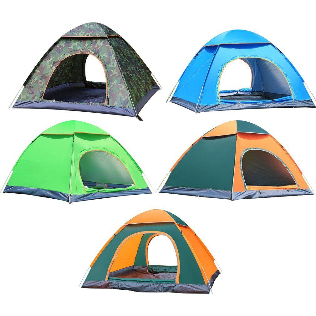 التخييم في الهواء الطلق للطي التخييم الخيام للماء خيام شاطئ التخييم الاستحمام سرعة فتح نافذة منبثقة لحظة خيمة