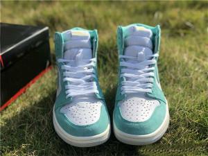 yeni moda Turbo Yeşil Basketbol Ayakkabı 1 1s Erkek Yeşil Beyaz Spor Ayakkabı Moda Açık Tasarımcı Eğitmen Sneakers