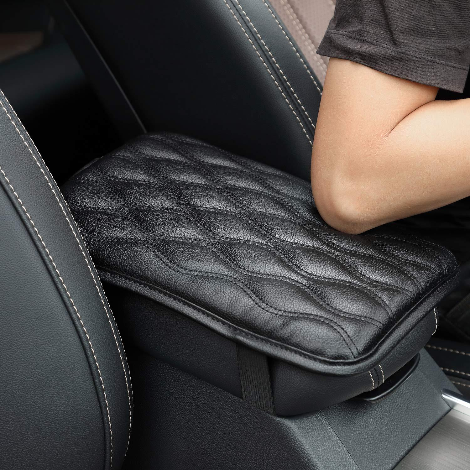 Universal Center Console Cover for Most Vehicle, SUV, Truck, Car, Waterproof Armrest Cover Center Console Pad Protector