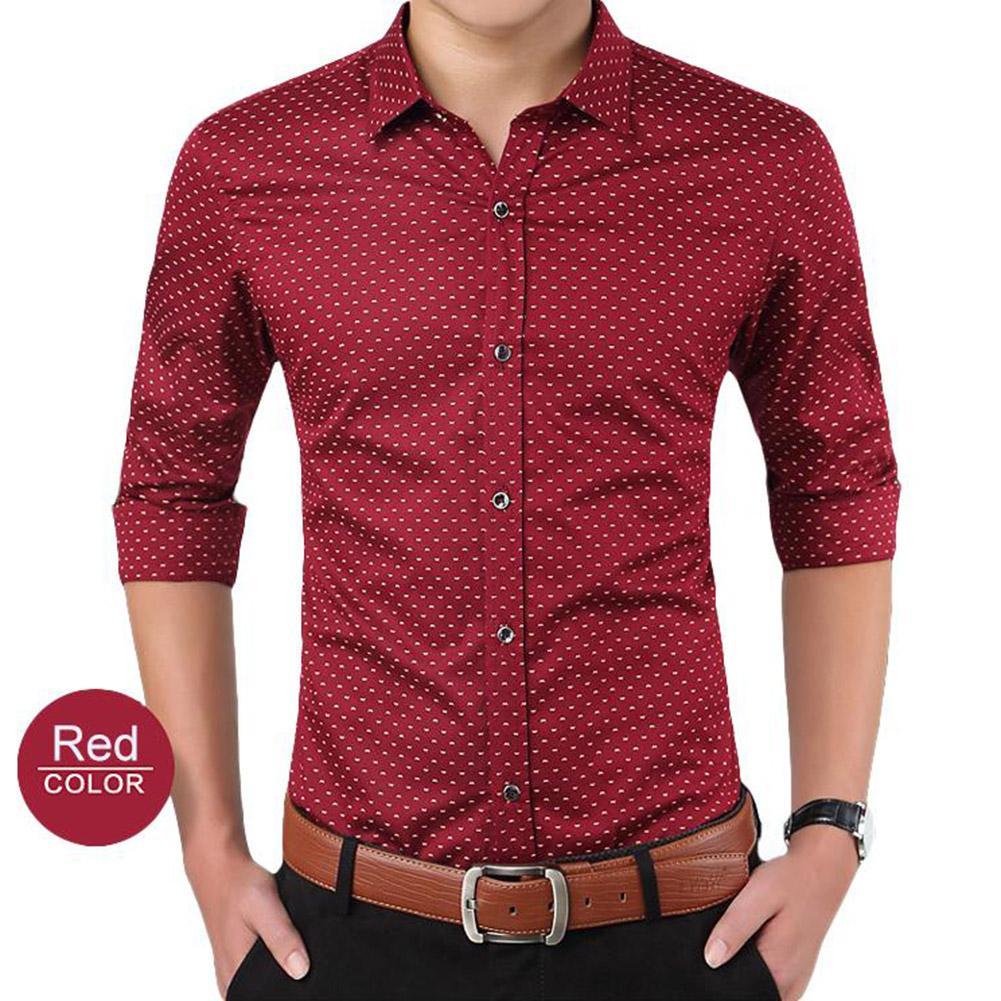 Camisa dos homens de moda homem blusa Plus Size Grande 4XL Mens Casual Business Camisa de Manga Comprida Clássico Masculino Social Camisas de Vestido