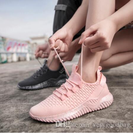 حبيب عارضة المرأة المدربين الترا لايت حذاء تنفس الرجال الاحذية سلة يطير نسج شبكة للجنسين الركض أحذية المشي