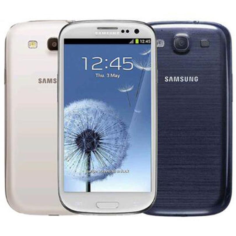 تم تجديده الأصلي سامسونج i9300 غالاكسي S3 I9305 الجيل الثالث 3G WCDMA 4G LTE 4.8 بوصة رباعية النواة 1.4GHz مقفلة رخيصة الهاتف الذكي DHL الجملة 10pcs