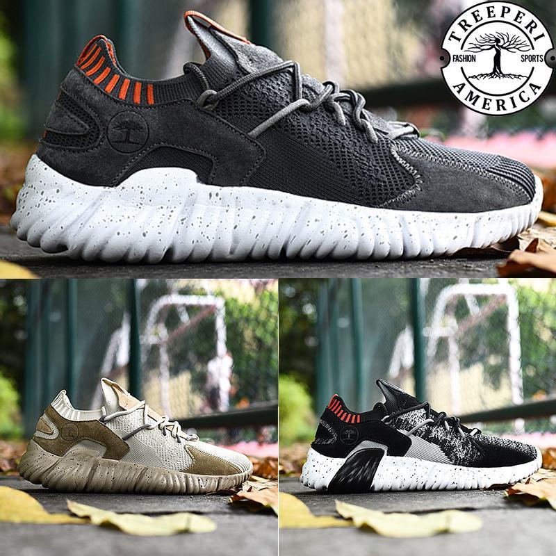 Designer Luxury treeperi Charm speed socks trainer 3.0 casual shoes oreo dark grey orange light tan men women sneakers US 5.5-10