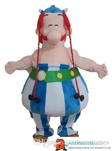 Acheter 100 Vrais Adultes Photos Asterix Et Obelix Costume De