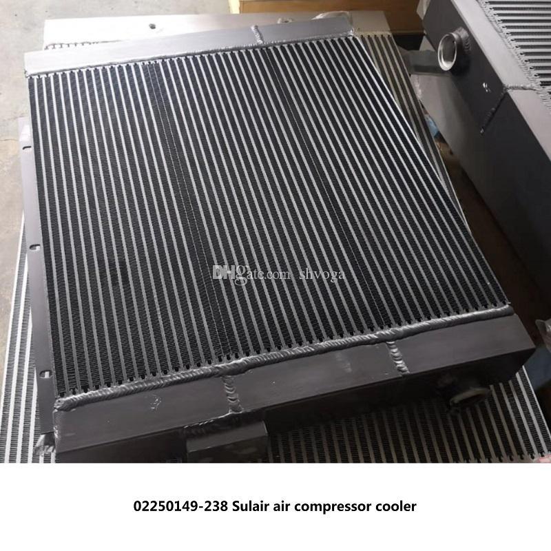 Frete grátis 02250149-238 OEM Sullair parafuso de radiador de óleo trocador de calor do compressor de ar LS10-40 refrigerador de ar do radiador