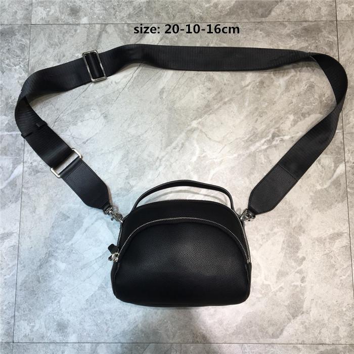 Yumuşak Dana derisi Deri Klasik Kemer Çantası Bel çantası, Trend Yan Fanny Paketi Erkekler Lady Çanta Yeni Tuval çapraz vücut çanta