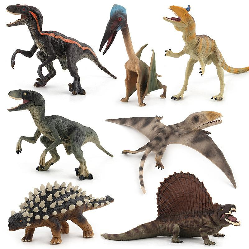 Children Model Solid Lower Jaw Mobile Jurassic Dinosaur Model Swift And Violent Dragon Pterosaur Wild Animal Model