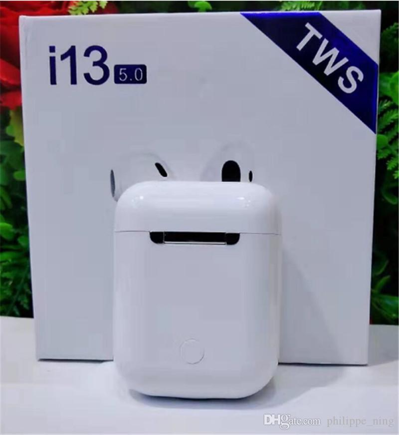 2019 New I13 TWS Earphones Air Pods Touch Control Headphones Wireless  Earbuds Bluetooth 5.0 Earphone For Samsung Galaxy S10 Plus Cell Phone  Wireless