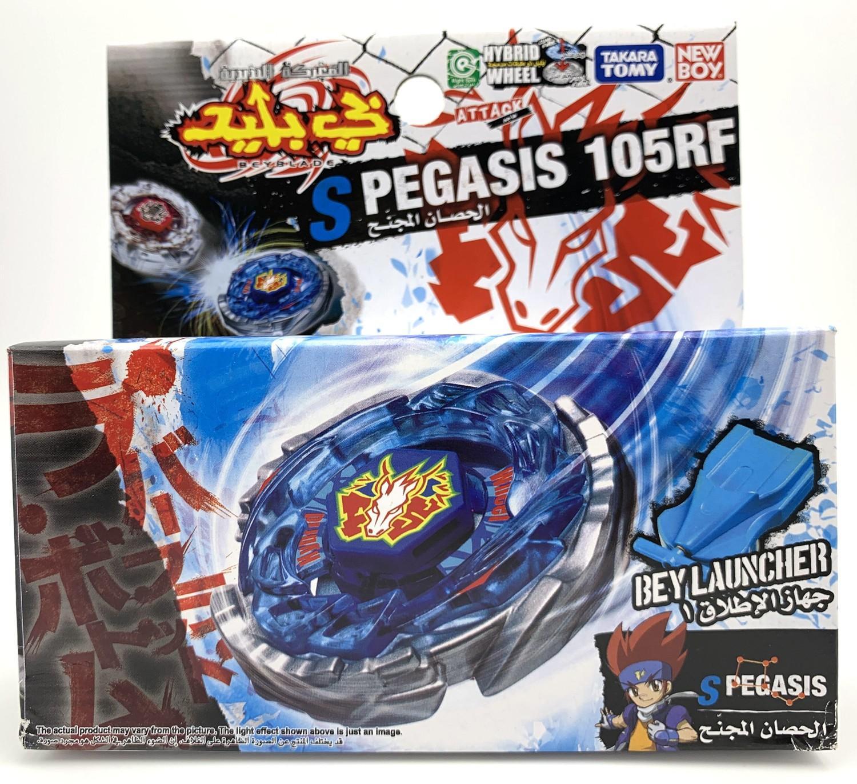 Original takara Tomy Storm Pegasis 105RF Beyblade (BB28) Starter Set Y200703