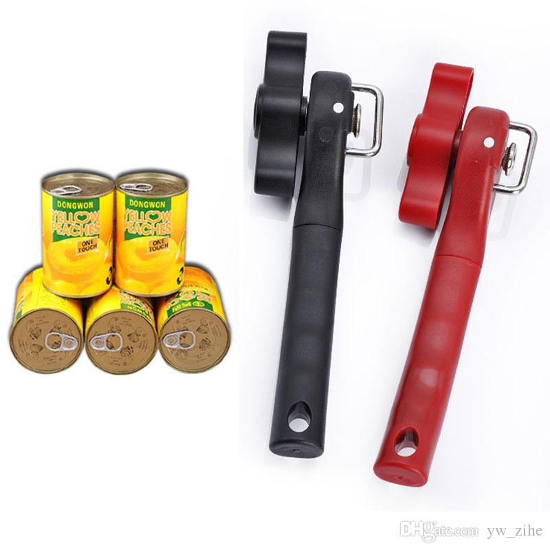 Gadgets Tin Can Opener cuisine ustensiles pour Bidons Bouteille Bocal Easy Grip Opener S