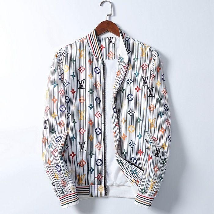 2020 lusso rivestimenti di modo di marca Mens del cappotto del progettista di autunno Giacca con cappuccio con lettere Windbreaker Zipper pullover da uomo Sportwear Abbigliamento