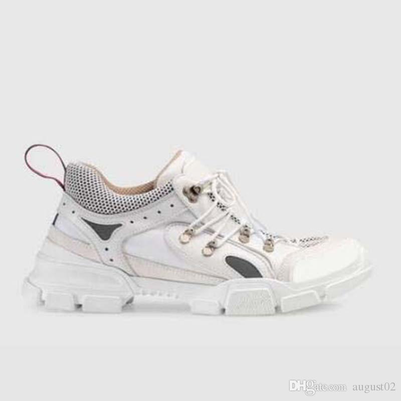Flashtrek Schuhe Plattform Cowboy Removable Crystals Herren Sneaker Fashion Frauen Schuhe zufällige Turnschuhe Größe 35-45 R3R