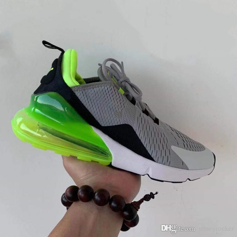 2019 yeni 270S Sıcak Punch Zeytin Çiçek Demir adam Antrasit eğitmenler Yol gündelik ayakkabı Spor Sneakers Ayakkabı Koşu 27C erkek womans