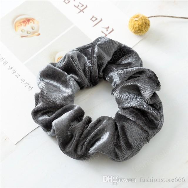 Various Loosely Woven Cotten Classic Scrunchie