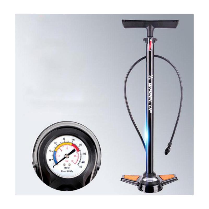 Moutain Bike Inflator Portable Bike Pump Air Pump With Pressure Gage Tire Pump