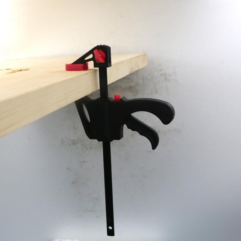 25 # 4 дюйма Быстрый Ratchet релиз Скорость Squeeze Деревообрабатывающий Bar F Тип зажим Крепеж ручки деревообрабатывающего Клип Kit
