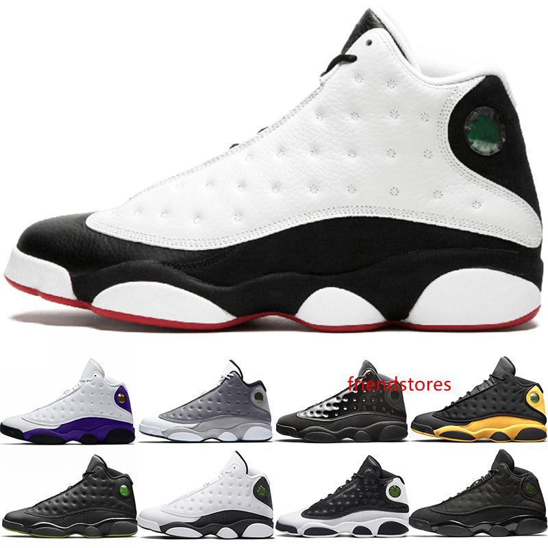 Yeni 13 Şapkanız 13s Erkekler Basketbol Ayakkabı Rakipler Atmosfer Gri Erkek Tasarımcı Eğitmen Spor Sneakers Boyut 41-47 Ücretsiz Kargo