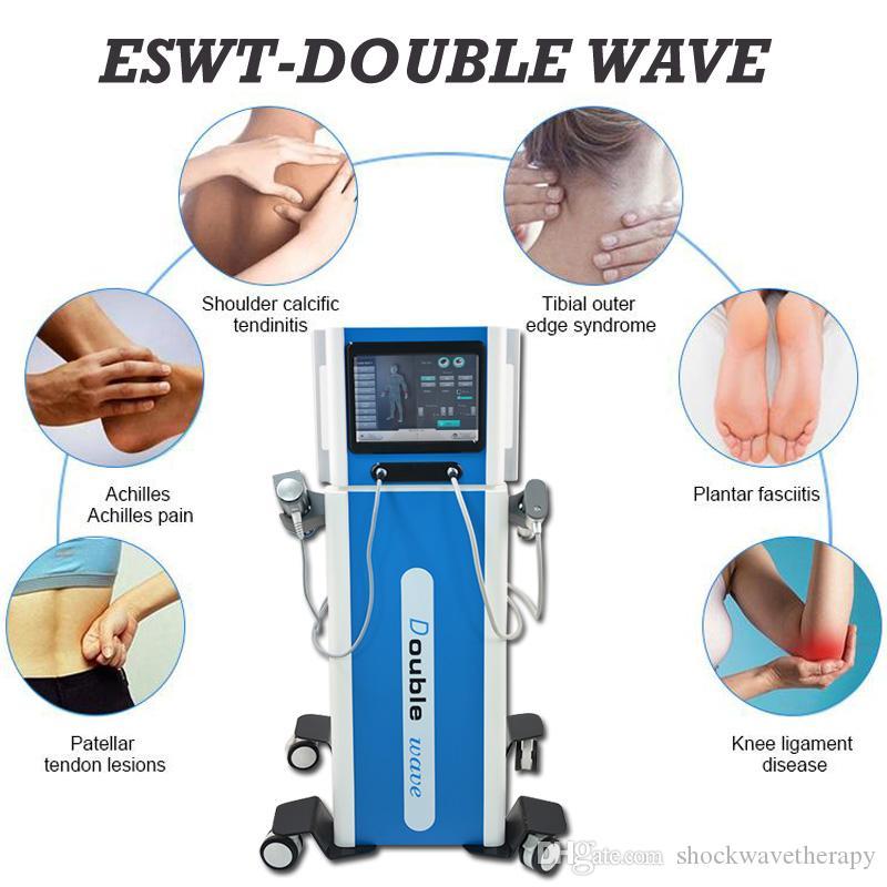 Alta onda d'urto di energia della macchina di terapia ad onde d'urto attrezzature pneumatiche per la rimozione del dolore erettile trattamento dysfunctioned trasporto libero