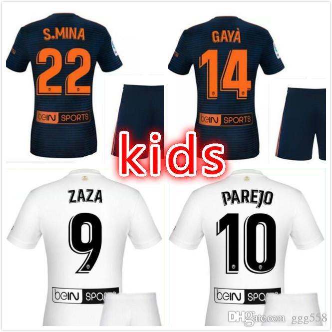 wholesale dealer 952bd 4398c 2019 3 2018 FUTBOL Camiseta Valencia Children'S Football Jersey Chandal  Valencia Jersey Valencia CF Thailand ZAZA Children'S Suit Gay K From  Ggg558, ...