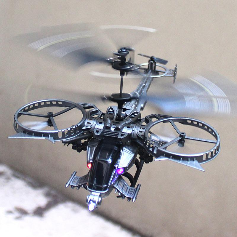 YD 713A Avatar RC Helicopter Model Toy, 3.5 Channels Infrared Sensing, Colorful Lights, Movie Theme, Xmas Kid Birthday Gift, Collecting, 2-1