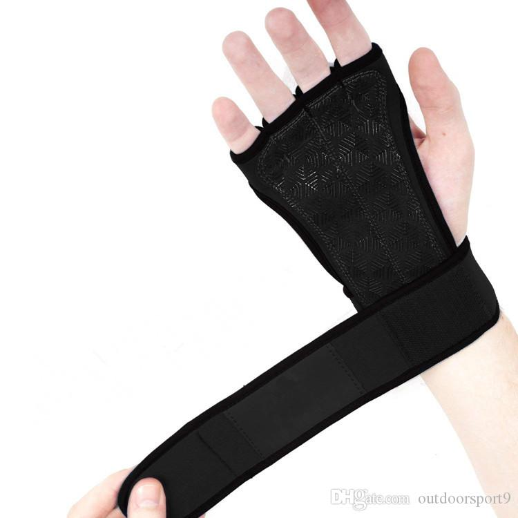 dedo Leaky vazamento de volta luvas de fitness respiráveis resistentes ao desgaste luvas de equitação ao ar livre antiderrapante palmas de levantamento de peso luvas atacado