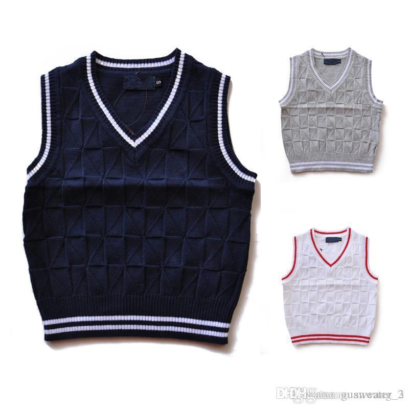 2020 de alta calidad de la moda nueva primavera ropa suéter / otoño / invierno los niños y niñas de los niños de la marca suéter de la capa del polo de los niños 2T - 6T