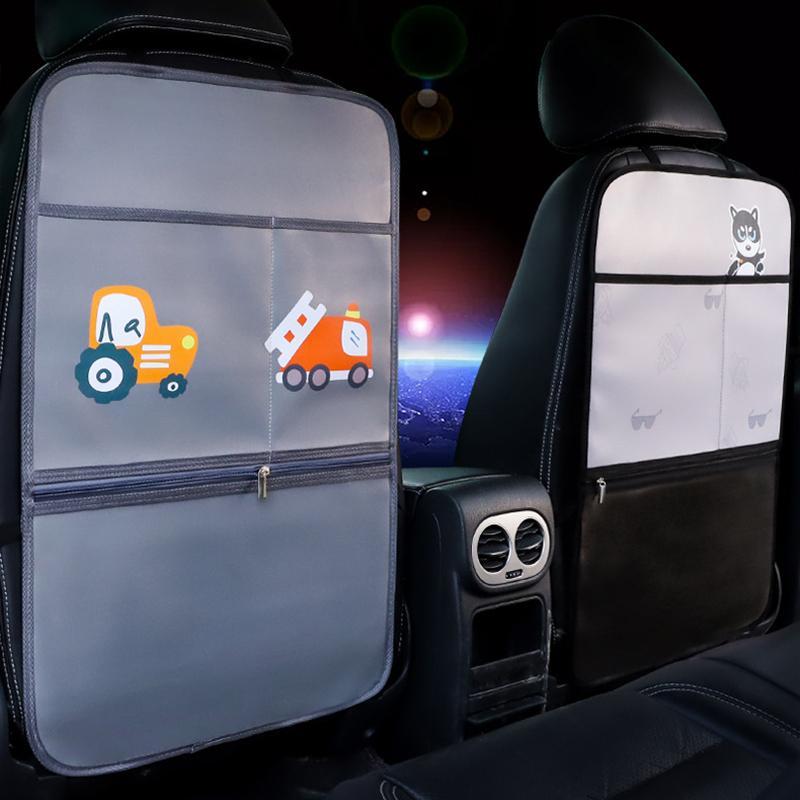 Niedliche Cartoon-Auto-Organizer Multifunktions-Aufbewahrungsbeutelauto-Rücksitz-Stauraum Aufbewahrungs-Tablet-Telefon-Universal-Autoversorgung für Auto