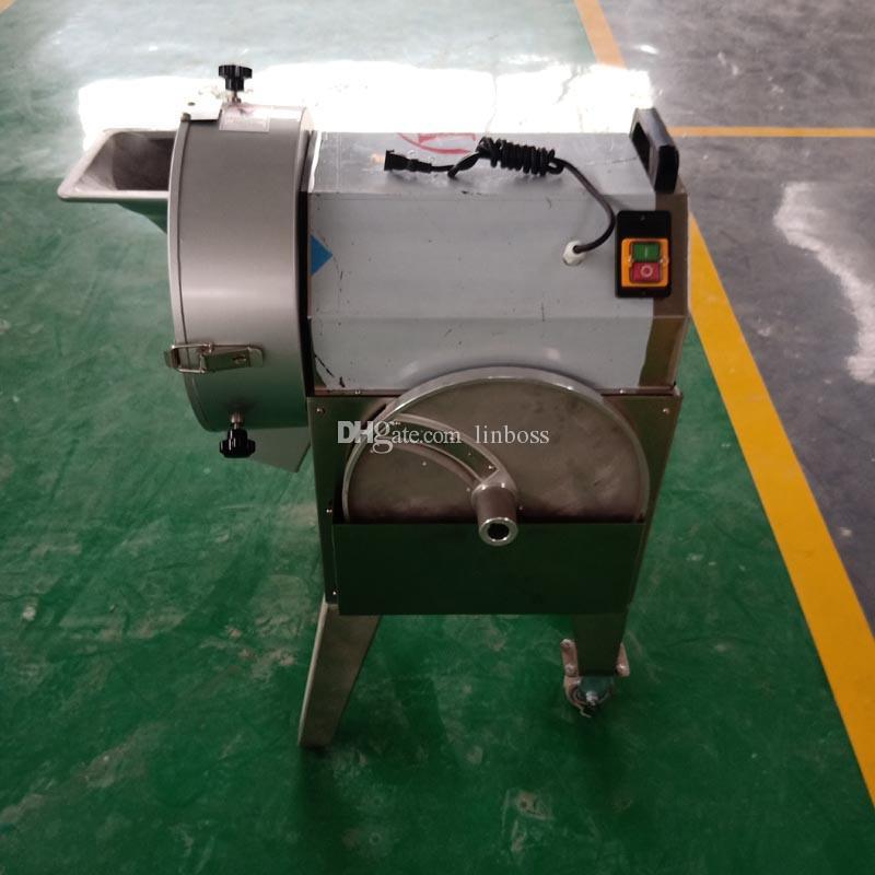 Broyeur multi-fonction de coupe-légumes en acier inoxydable / coupe-bloc machine automatique de découpe Machine polyvalente 220V 110V